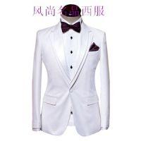 男士结婚礼服定制白色系款