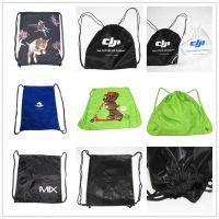 尼龙布袋 束口袋抽拉绳袋定做 涤纶布束口背包袋定制 价格优惠