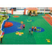 广州厂家供应幼儿园塑胶地面 幼儿园橡胶地面 塑胶场地