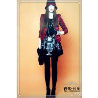 2014新款韩版羊绒大衣批发便宜冬装羽绒服批发爆款