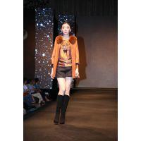 玖姿风格女式皮衣,轻奢女装,高档皮衣,oubasil罗勒女装