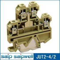 供应JUT2-4/2 UK接线端子 大电流接线端子 赛普接线端子 组合式