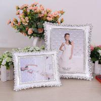 相框 厂家 欧式精美 10寸摆台高档婚纱玫瑰相框 创意礼品相框批发