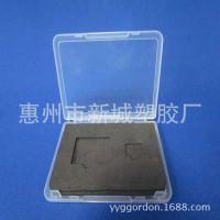 厂家供应PP塑料透明小盒子 小工具盒 小收纳盒 名片盒 便签盒