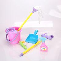正品雄森儿童过家家玩具清洁卫生工具套装XS-08056