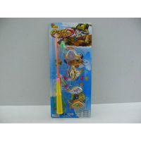 夏日钓鱼玩具批发 磁性钓鱼玩具套装 双色立体双面鱼 地摊玩具W