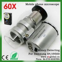 三星i9500  s4 60倍手机外置镜头显微镜  光学镜头厂家