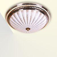 圆形LED水晶灯吸顶灯客厅灯卧室餐厅灯具金色水晶灯饰 8886西瓜皮