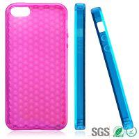 Iphone 5G 钻纹手机保护壳 苹果手机套 颜色多选 厂家直销 TPU材质