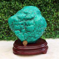 批发供应 绿松石原石摆件 家里、办公室用的招财摆件 矿物标本