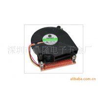 供应拓普龙TOPLOONG LGA478/775/1155/1150/2011纯铜散热器 服务器专用