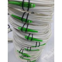 直销光纤单模单芯低烟无卤G657B3白色3.0SC/APC-SC/APC光纤跳线