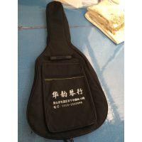 新款加棉帆布吉他包双背带手提乐器包