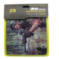 供应电脑游戏精装鼠标垫批发 高档Z5鼠标垫 250*200*3mm纸卡吸塑包装