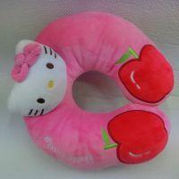 kittyU型枕护颈枕记忆枕头可爱午睡枕脖子U枕慢回弹保健颈椎枕芯