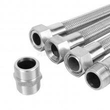 优质SUS316不锈钢金属软管 标准耐高温金属软管 蒸汽管道金属软管