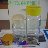 厂家直销玻璃蜂蜜瓶500ML蜂蜜玻璃瓶 高白料蜂蜜玻璃瓶子
