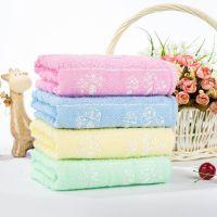 【一件包邮】9.9包邮纯棉毛巾 全棉蘑菇款 柔软吸水 加厚 爆款