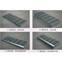 4S店沟盖玻璃格栅板热镀锌钢格板(格栅板)不锈钢网格板钢梯平台踏步板立柱