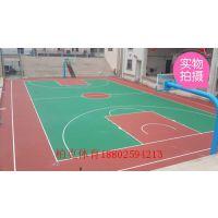 供应珠海彩色弹性球场施工厂家/中山篮球场地面画线哪里有做?