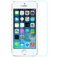供应iphone5S钢化玻璃防爆膜 苹果5s超清防爆膜