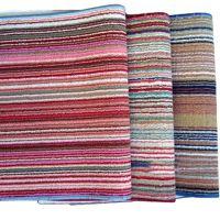A185家居用品地毯明珠地垫简家 彩色条纹垫门垫\防滑垫