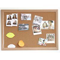 精耐特 软木留言板水松板 60X90挂式 幼儿园留言墙软木板 可定制