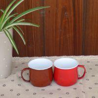 zakka杂货 复古创意 涨肚杯 大肚杯 搪瓷杯 咖啡杯 牛奶杯