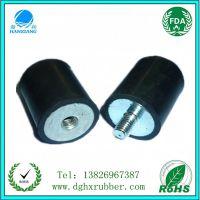 供应防震胶垫 振动胶垫 橡胶减振 圆柱减震 专业橡胶加工