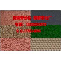 浙江常用绿绒刺皮包辊带 绿短绒糙面皮加工厂