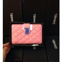 供应2014年新款女士钱包双中长钱夹头层羊皮钱包高品质一件代发