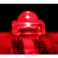 汽车灯专用食人鱼红光 3MM食人鱼红光 5MM食人鱼红光灯珠(高品质)