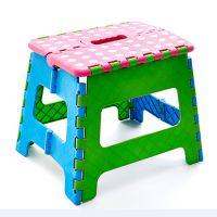 27cm圆点折叠塑料凳 椅子板凳 户外钓鱼专用 宝宝凳批发