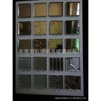 玻璃厂供应 有色装饰玻璃镜