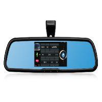 语音导航软件哪个好,到哪购买先科S8汽车后视镜导航仪产品