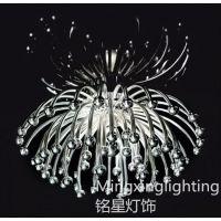 供应创意设计金属菊花状吸顶灯 简约现代 酒店大堂客厅灯具 工程灯