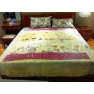 Super Soft Breathable Micro Fiber Blanket Prionted For Home , 100% Polyester Blankets