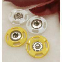 TS纽扣报价 优质金属钮扣 30mm彩色尼龙按扣 服装塑料组合揿扣
