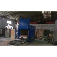 金力泰轨道式电阻炉 东莞厂家台车式可控硅控温电动炉门自动式热处理炉