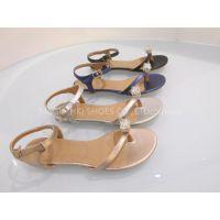 Ladies�� fashionable leather sandals