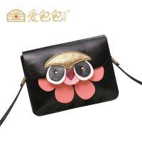 广州女包批发迷你猫头鹰包包时尚潮流单肩包女迷你小包包手机包潮