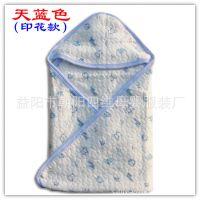纯棉印花新款包被 抱被 新生儿抱毯 空调房被