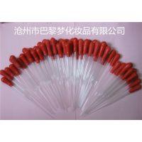 厂家直销实验室玻璃试管10ml香水精油乳胶头化妆品滴管可定做