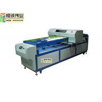 五金铝制金属标牌打印机 uv数码万能平板印刷设备制作机器 深圳