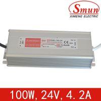 供应24V 4.2A防水开关电源 100w led开关电源