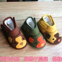 2014晋豆子儿童手工棉鞋