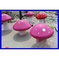树脂雕塑工艺品幼儿园房地产绿化园林软装饰品摆件仿真大蘑菇雕像