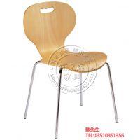 钰之辉家具便携式曲木桌椅 快餐店餐桌椅