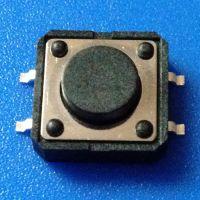 厂家生产优质耐高温轻触开关12x12x5贴片