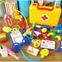 星月儿童仿真医护工具箱 过家家医生玩具 听诊器打针套装BL-017